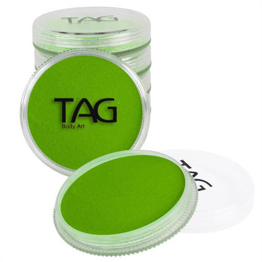 TAG-light-green-face-paint