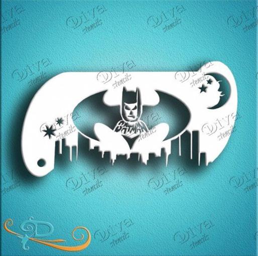 Diva-stensil-batman