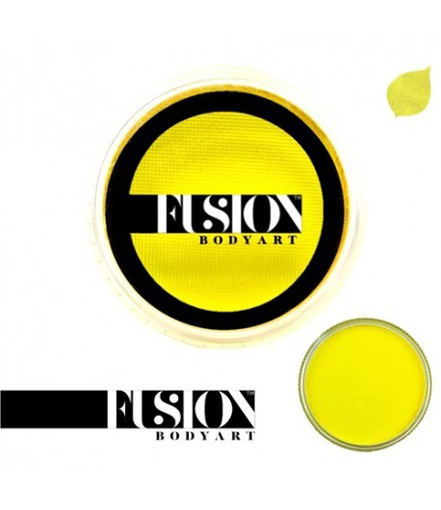 Fusion-yellow-face-paint