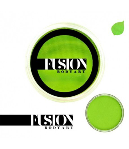 Fusion-lime-green-face-paint