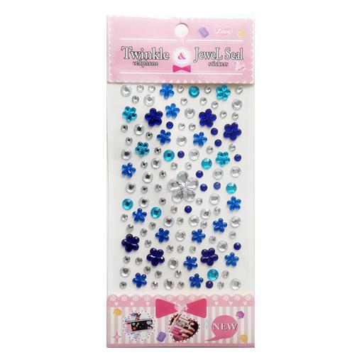 Bling-flower-blue