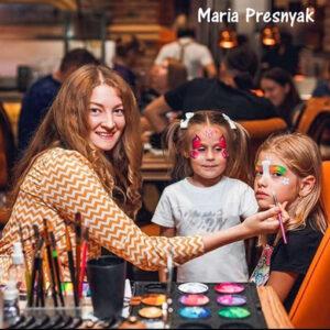 Детский аквагрим Одесса. Услуги аквагримера